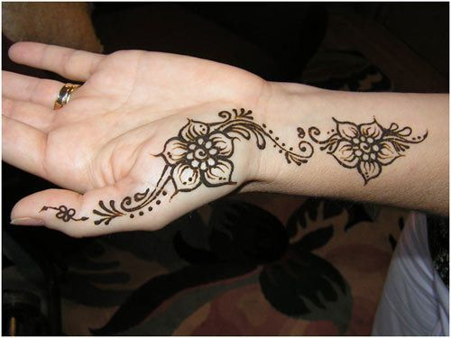 Simple Wrist Mehndi : Easy and simple mehndi designs that you should try in