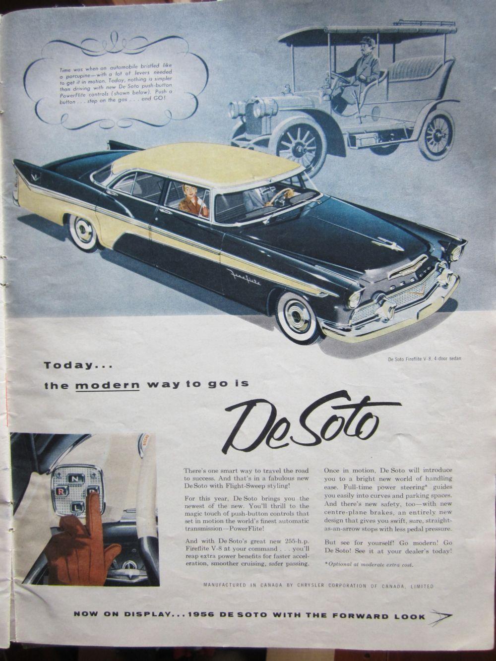 1956 desoto firedome seville 4 door hardtop 1 of 10 - 1956 Desoto Fireflite 4 Door Sedan