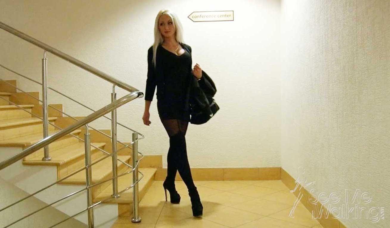 Candice Cooper Fast Cam Hiden Wedge Boots Black IJ_9571