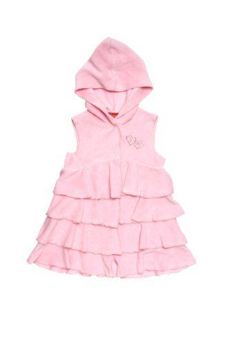 Kate Mack Baby Girls Sleeveless Terry Coverup