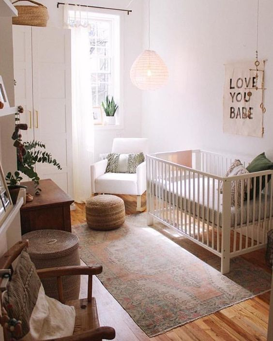 25 Smart Ideas To Design A Small Nursery Right images