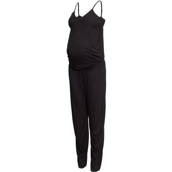 050dcd9048 H M MAMA Jumpsuit ( 31) ❤ liked on Polyvore featuring jumpsuits ...