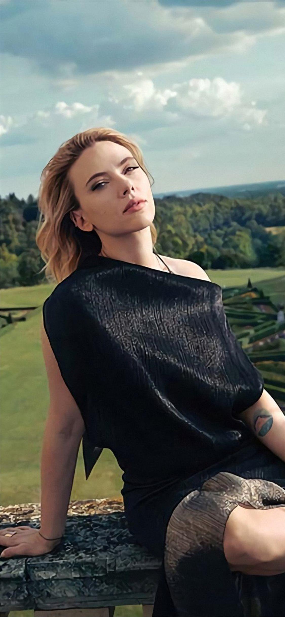 Scarlett Johansson Scarlett Johansson The Hollywood Reporter