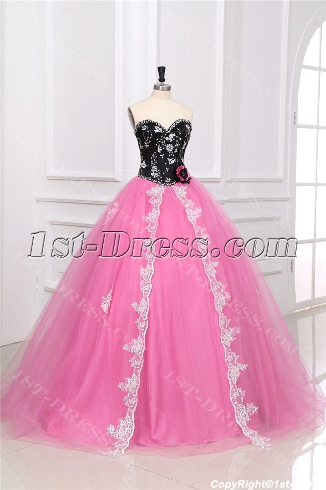 Colorful Unique Masquerade Ball Gown Dress:1st-dress.com ...