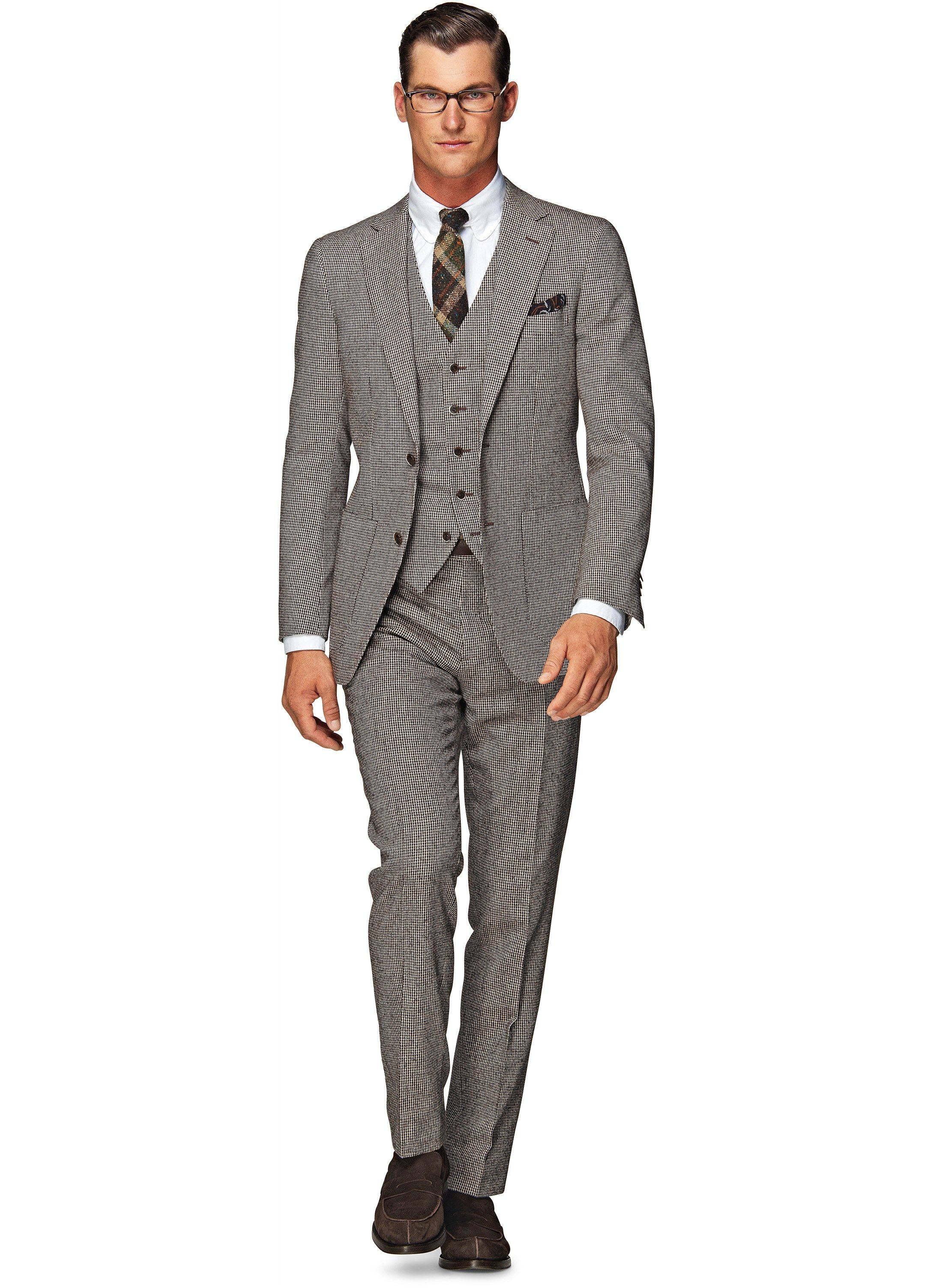 Suitsupply.com- Havana Brown Houndstooth | Suits & Jackets ...