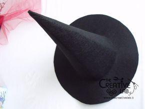 tutorial cappello strega halloween costume fai da te 27  4f2705dc4f65
