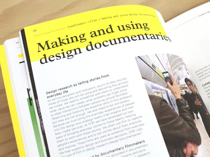 Viewfinders thoughts on visual design research design