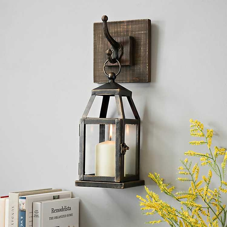 Product Details Hanging Lantern Metal Sconce Dining Room