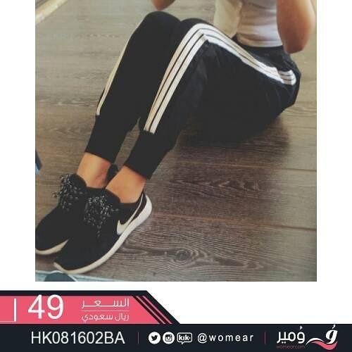 بنطلونات رياضية جذابة بنطلون بناتي بنطال نسائي موضة ازياء سبورت فاشون ستايلات موديلات Vans Old Skool Sneaker Vans Sneaker Sneakers