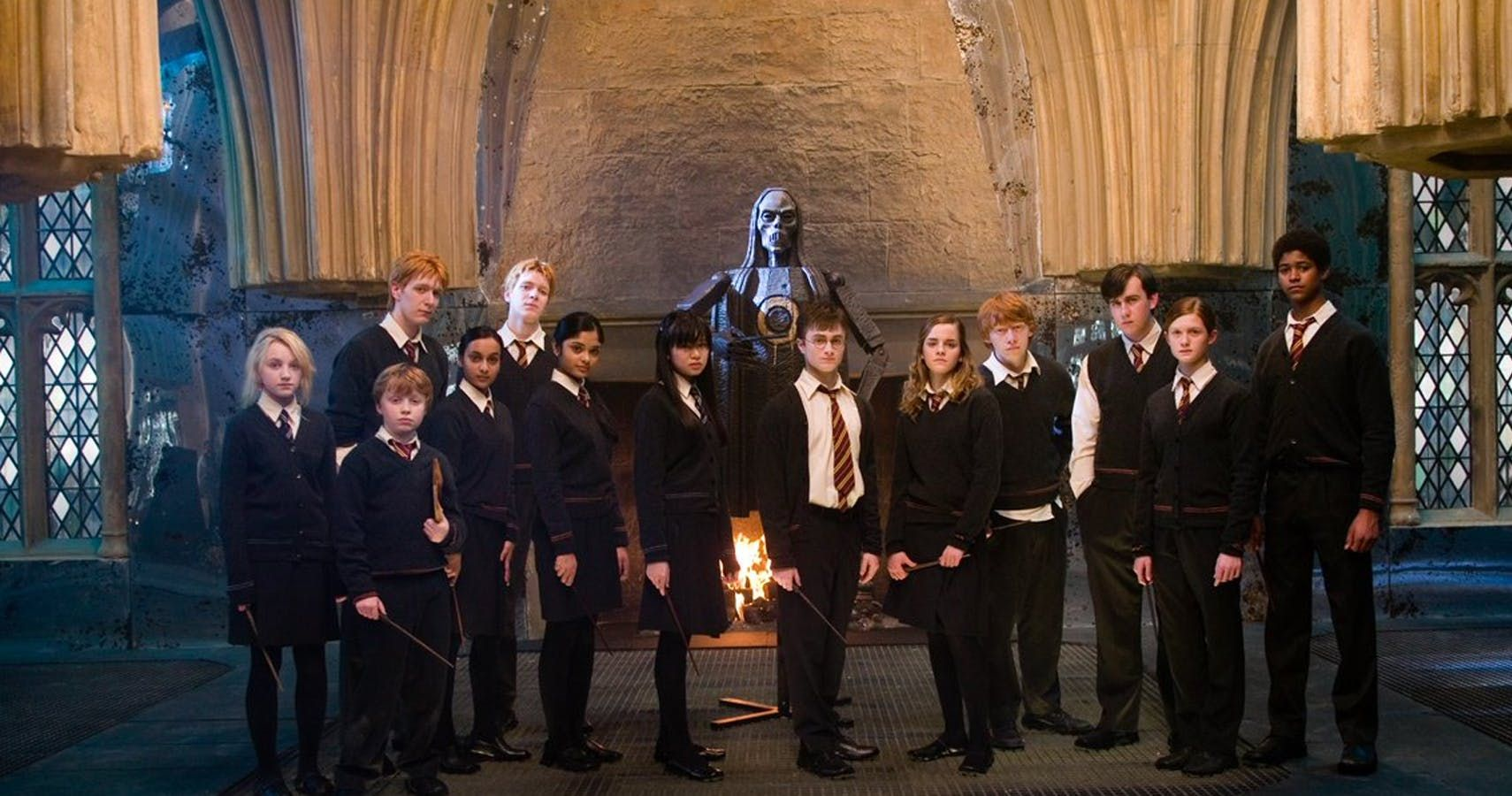 Harry Potter 20 Members Of Dumbledore S Army Officially Ranked Harry Potter Dumbledore Harry Potter Pictures Harry Potter Movies