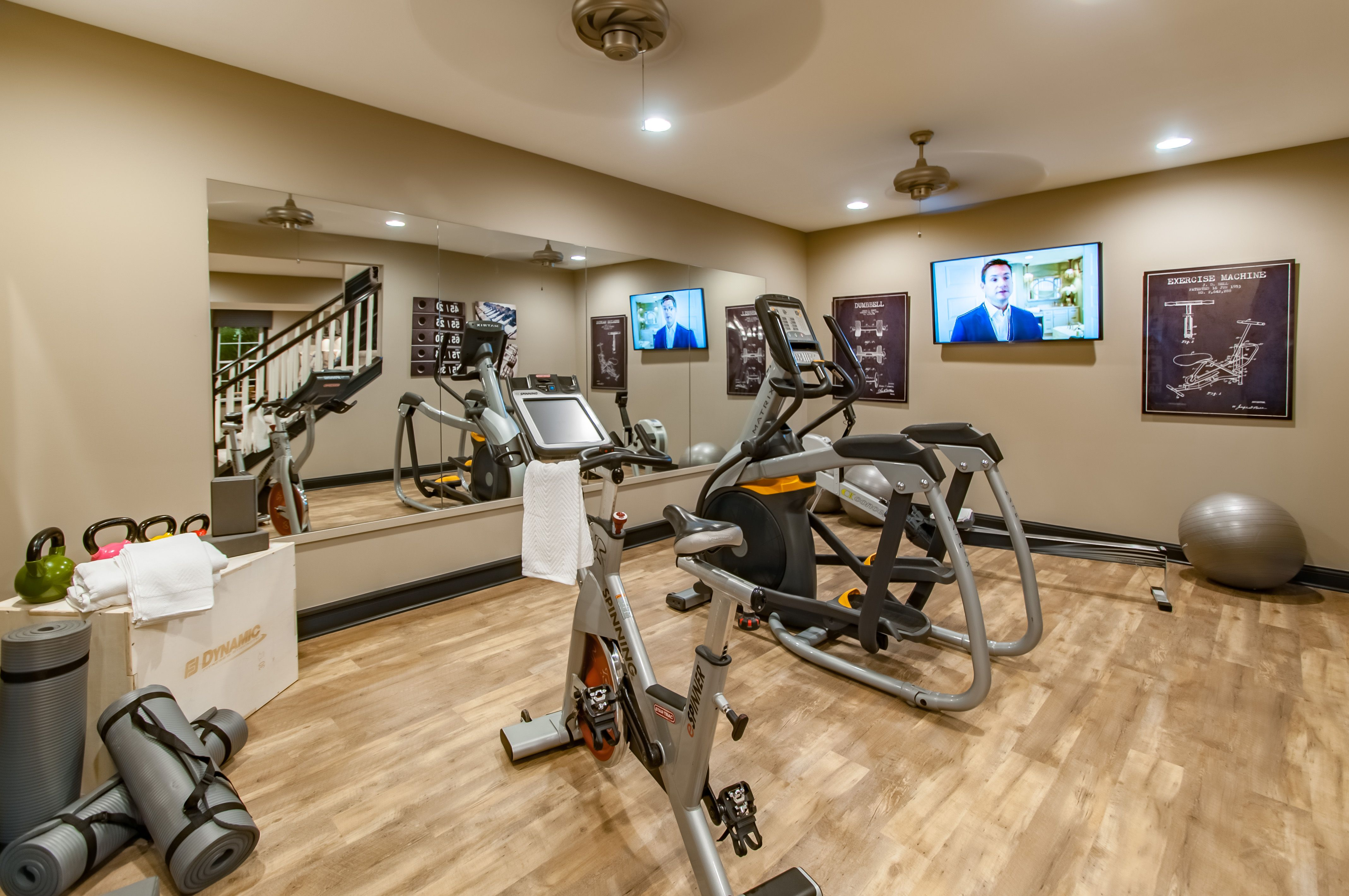 Excercise room the rookwood indianapolis home show