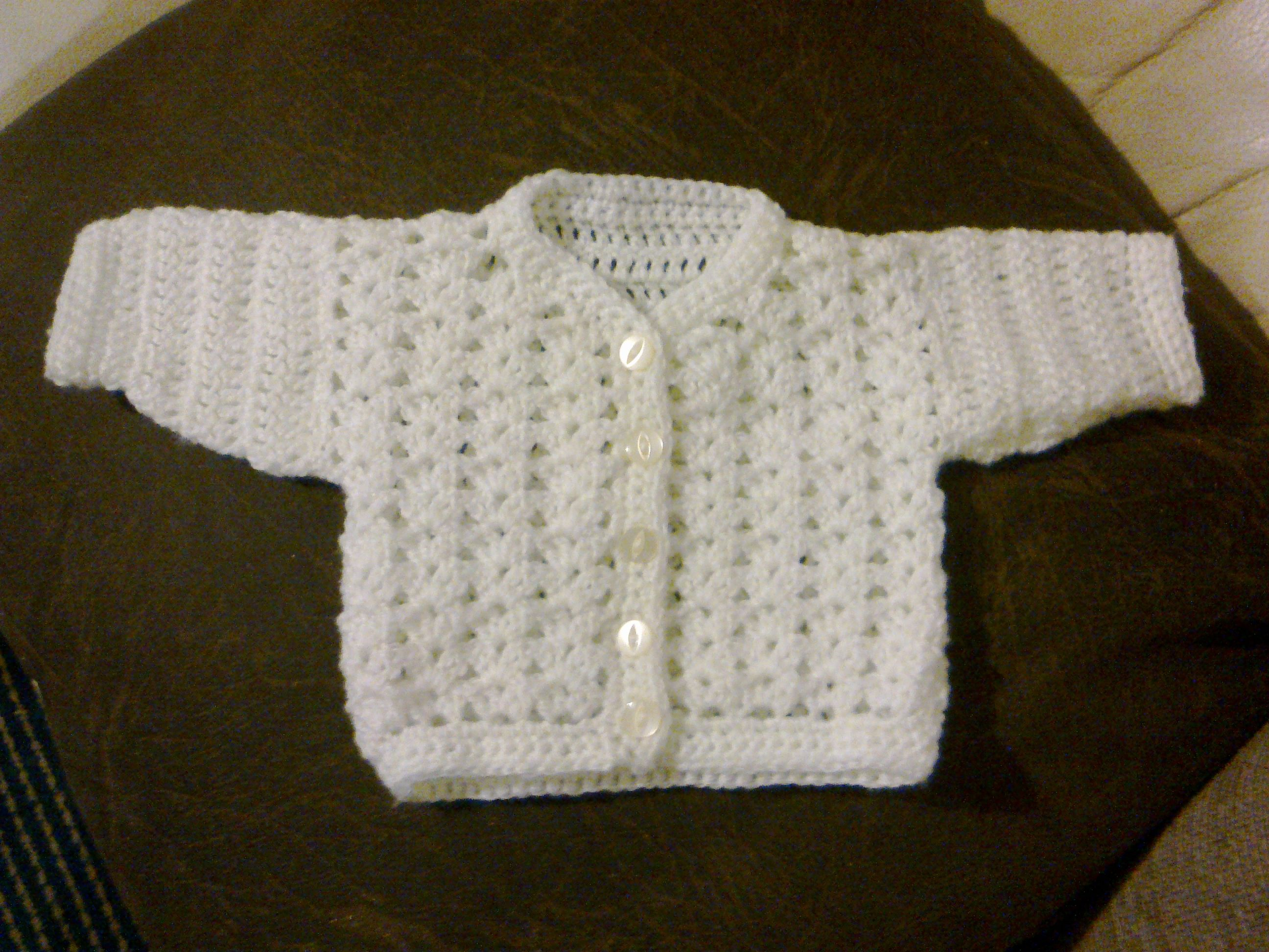 Free Baby Crochet Patterns | Baby Cardigan Crochet Pattern | Crochet ...