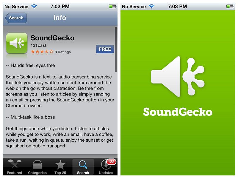 soundgecko in minutes turns your article or pdf into saveable audio