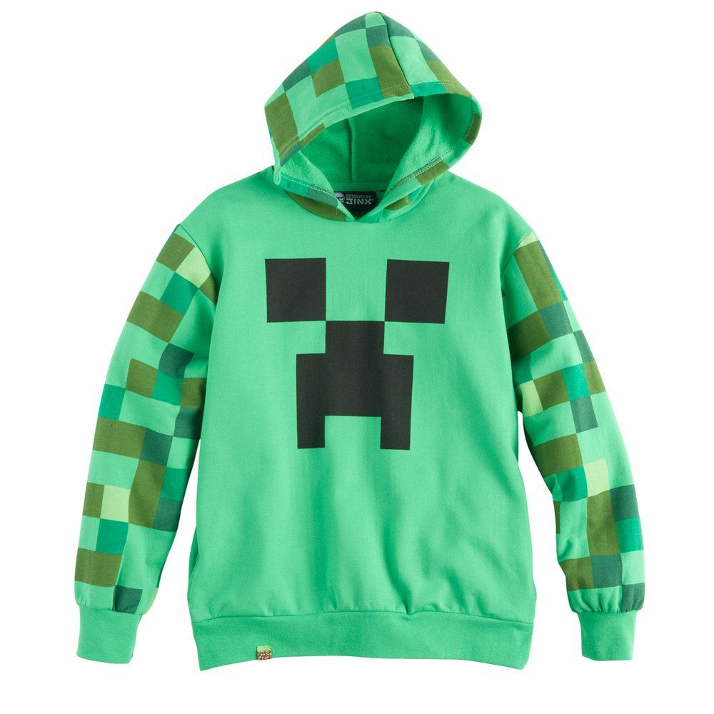 Minecraft Creeper Boy's Hoodie (7 8 Years)