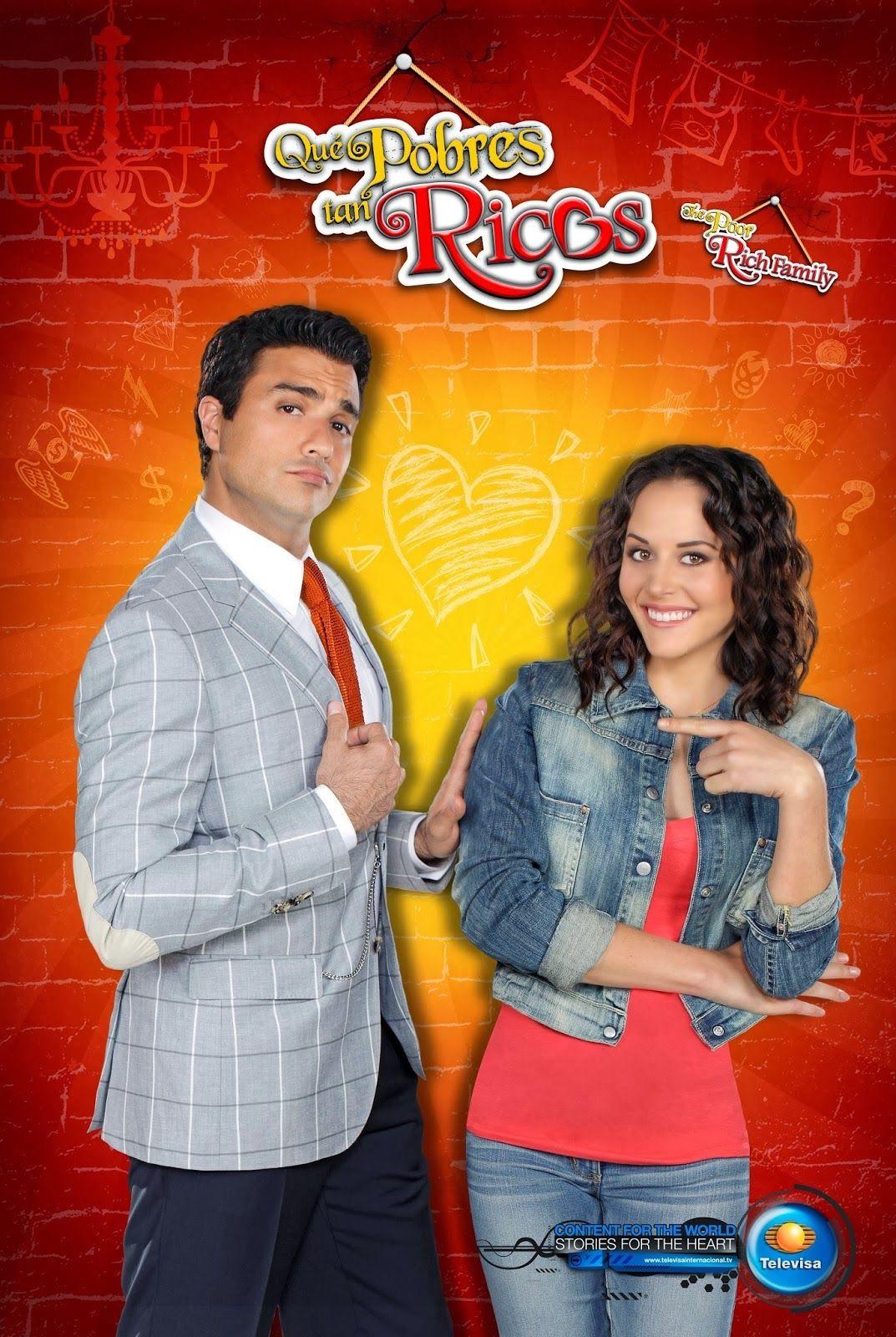 Que Pobres Tan Ricos Comedy Tv Shows Rich Family Telenovelas