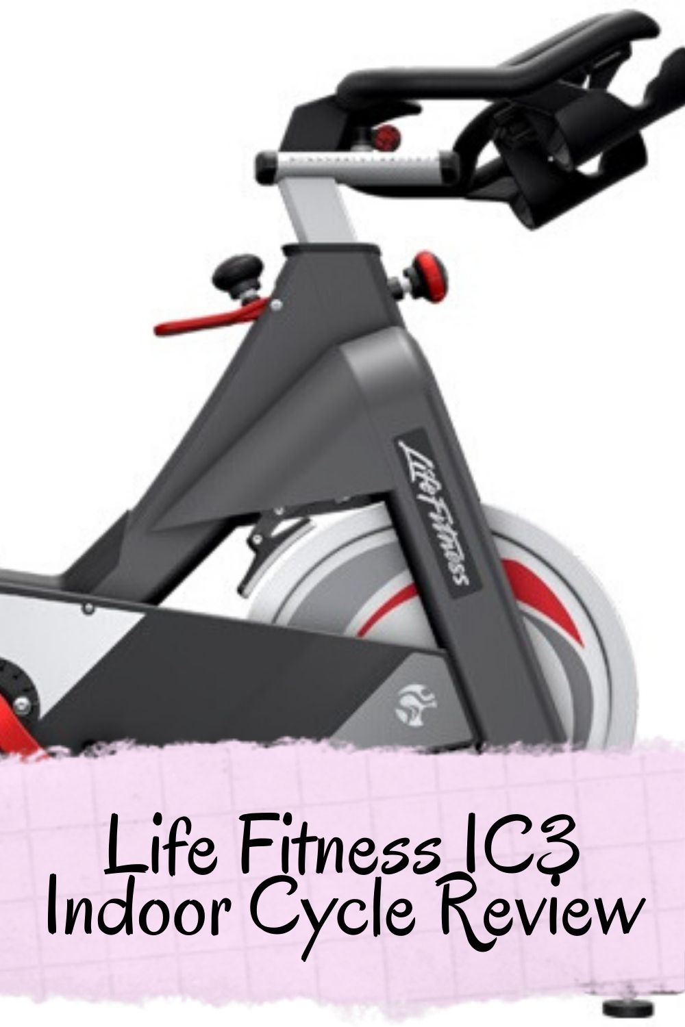 Life Fitness Ic3 Indoor Cycle Review Biking Workout Fit Life Bike Trainer