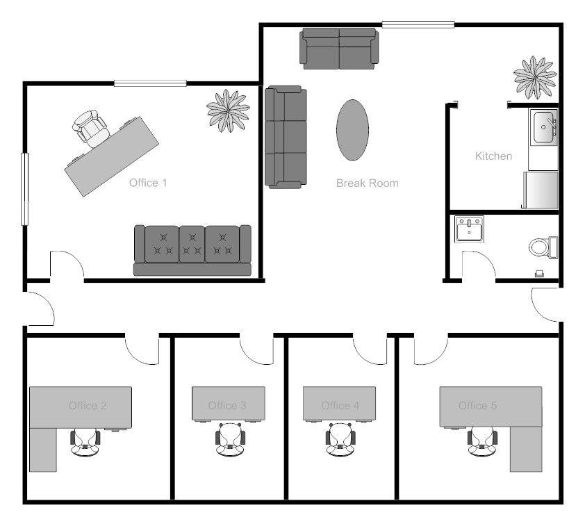 Drupadi Bedroom Simple 4 Bedroom Floor Plans Simple House Plans Simple House House Layout Plans