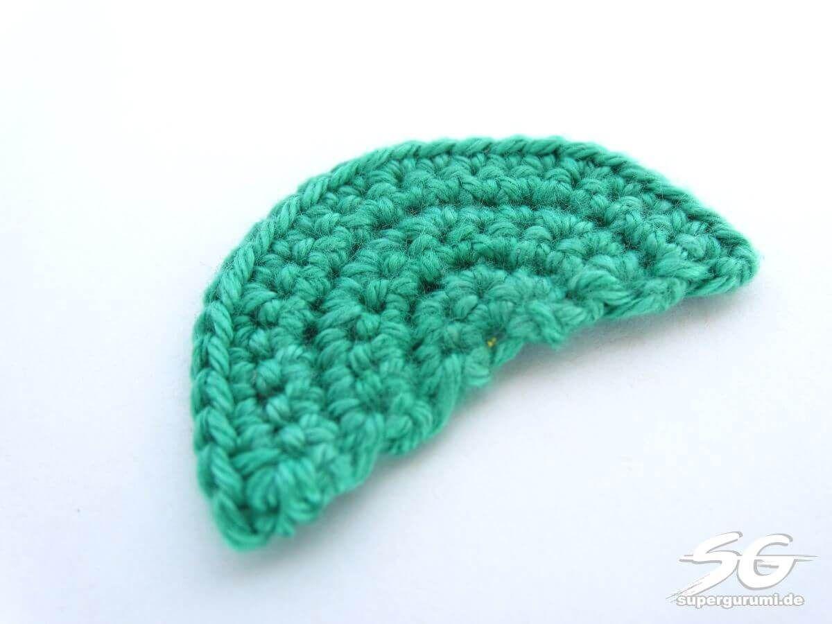 Halbkreis Häkeln Anleitung Gehäkelt Crochet Amigurumi Und Diy
