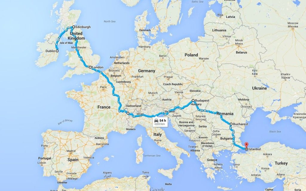 Gumball 3000 2016 Dublin To Istanbul Route Guide Shmee150 Gumball 3000 Gumball Super Cars