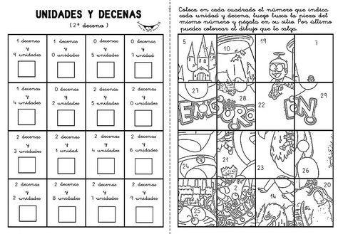 Dibujos De Decenas Y Unidades Imagui Decenas Y Centenas Decenas Y Unidades Centenas Decenas Unidades