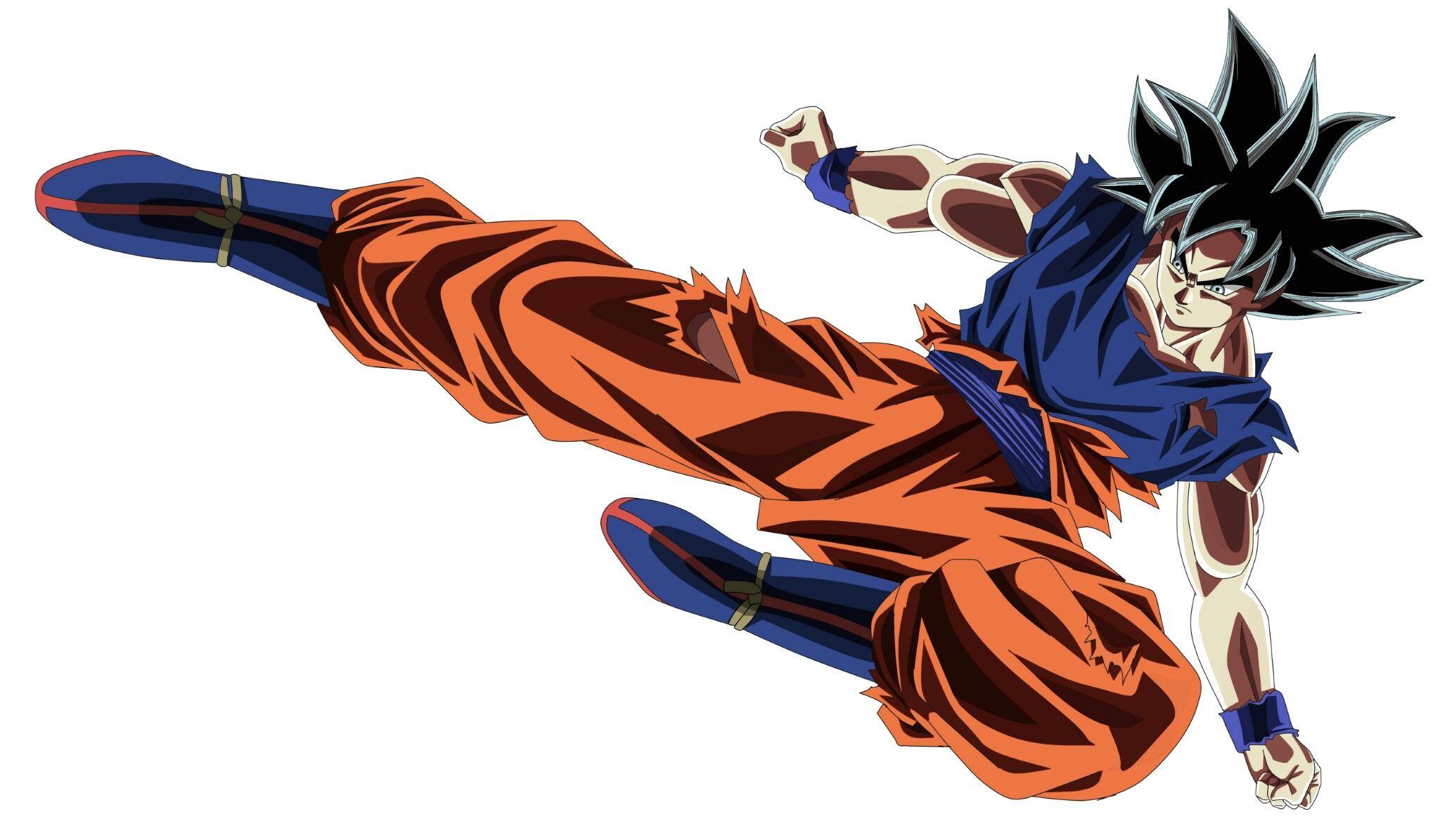 Colorear Goku Y Para Dibujos Para Colorear De Goku Ssj: Goku Para Colorear Ultra Instinto