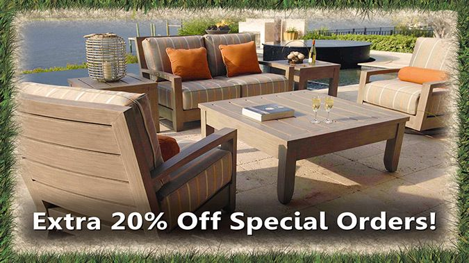 Christy Sports Patio Furniture Sale Event
