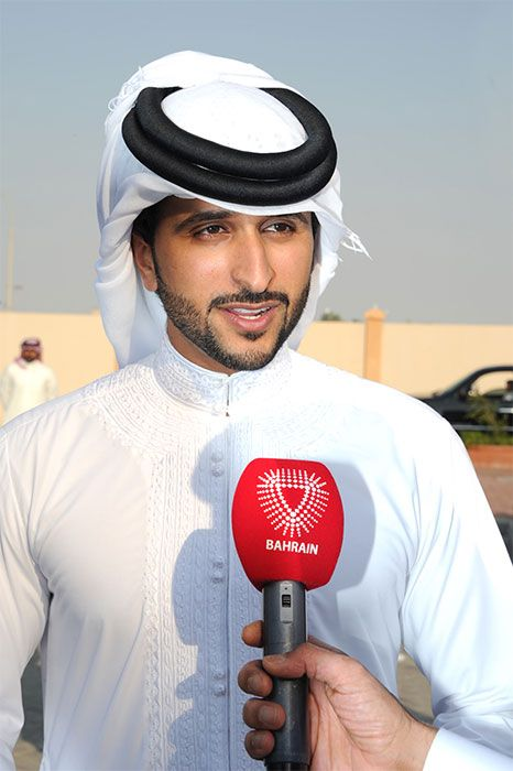 سمو الشيخ ناصر بن حمد آل خليفة Captain Hat Photo Fashion