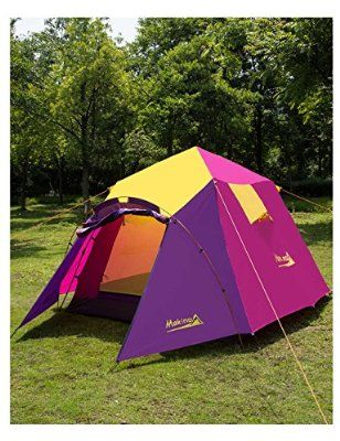 Makino 3-4 person Tent for C&ing 0053 Purple & Makino 3-4 person Tent for Camping 0053 Purple | All About Sophee ...