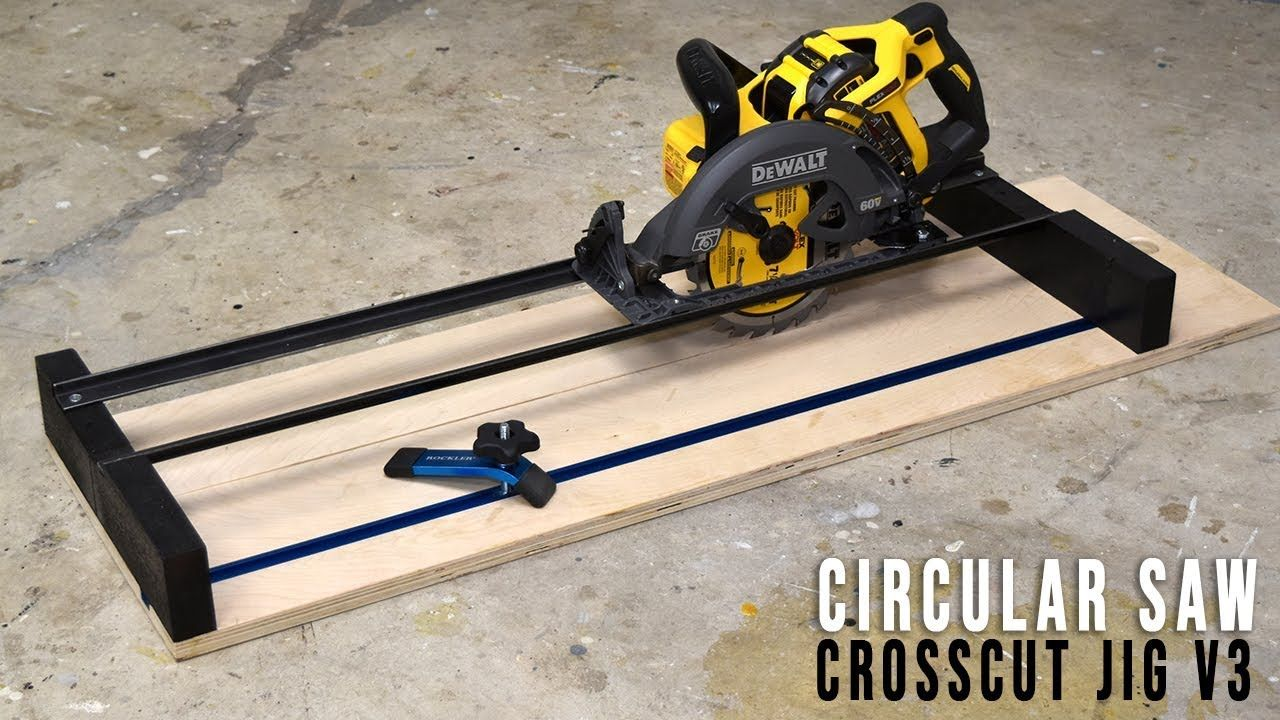 Diy Circular Saw Crosscut And Router Jig Handmade Crafts Howto Diy Circular Saw Circular Saw Jig Router Jig