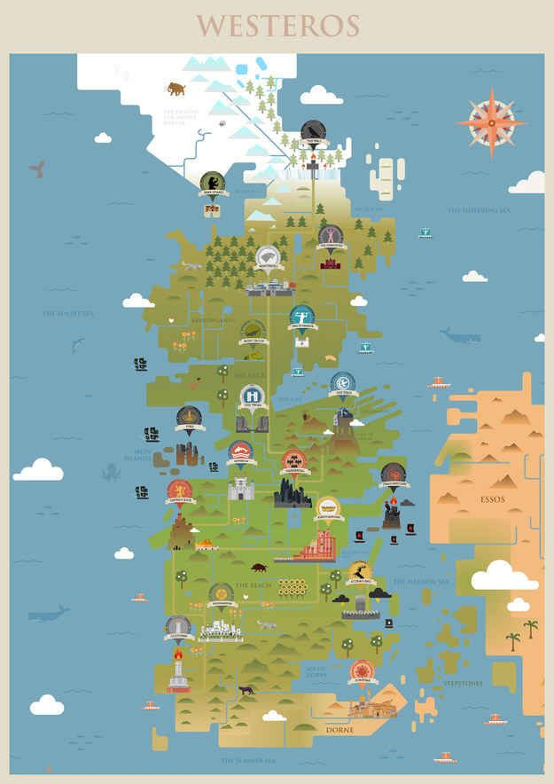 27 maps that will change how you think about game of thrones 27 maps that will change how you think about game of thrones gumiabroncs Images