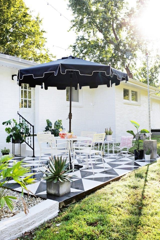 7 Smart Ideas To Steal From The Internet S Prettiest Patios