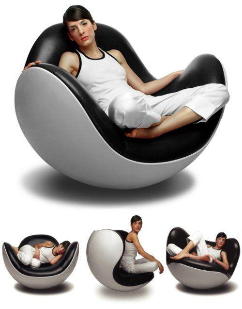 Placentero chair silla de dise o moderno dise ada por - Sofas individuales modernos ...