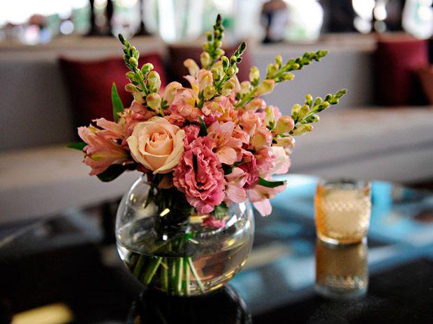 Faca Voce Mesmo Centro De Mesa Com Flores Para Casamento Com