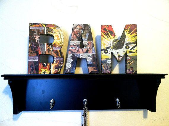 Marvel bedroom decor for Elijah! New House Ideas ) Pinterest