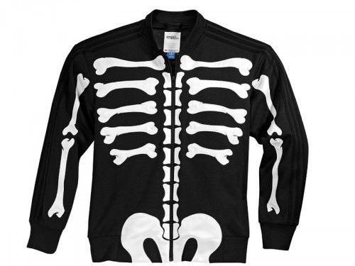 new concept 76eeb 63f5b Jeremy Scott - Adidas Skeleton Jacket - Front
