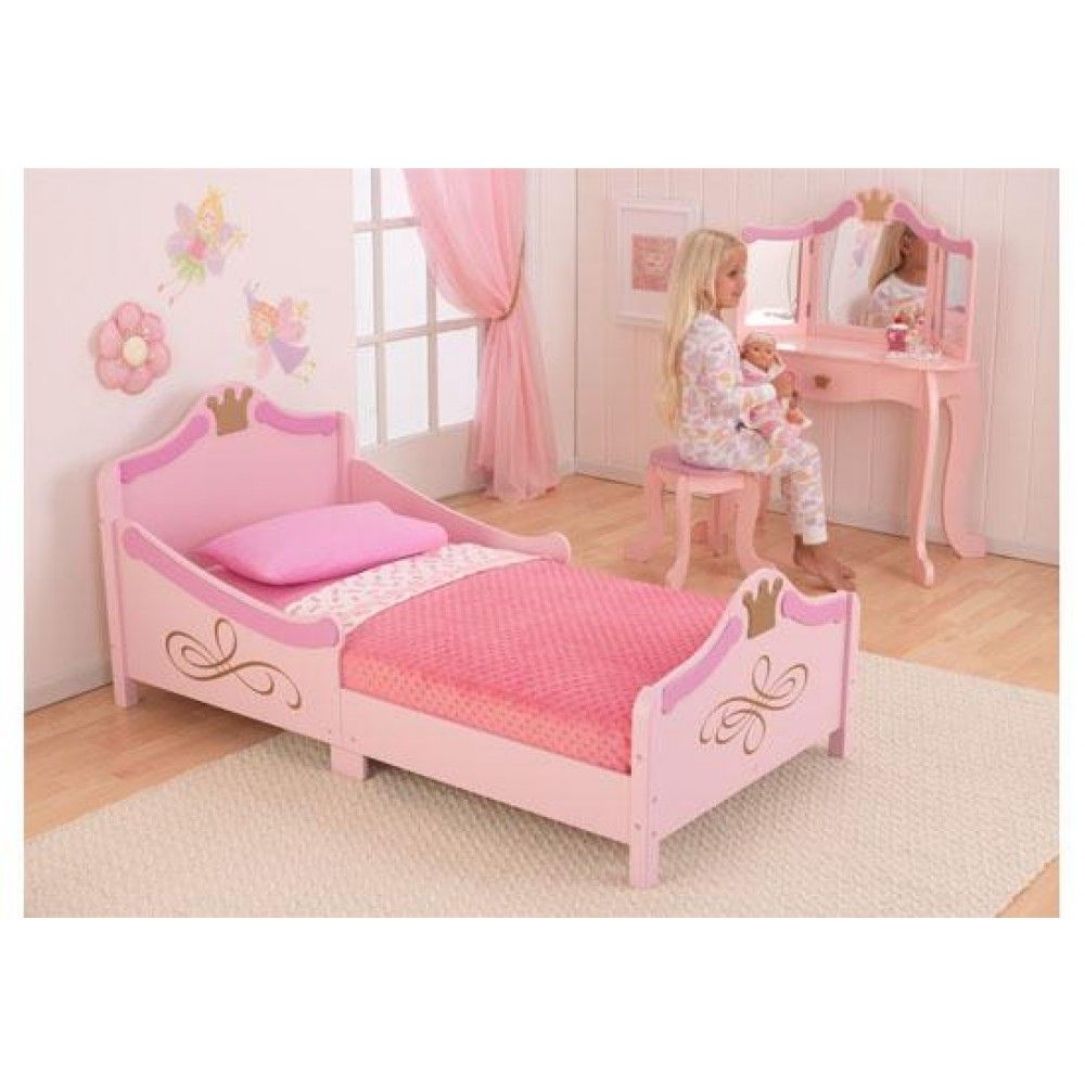 The Best Pink Princess Styled Toddler Bed For Your Little Girl KidKraft Will Make Her Feel Special And Provide A Good Nights Sleep