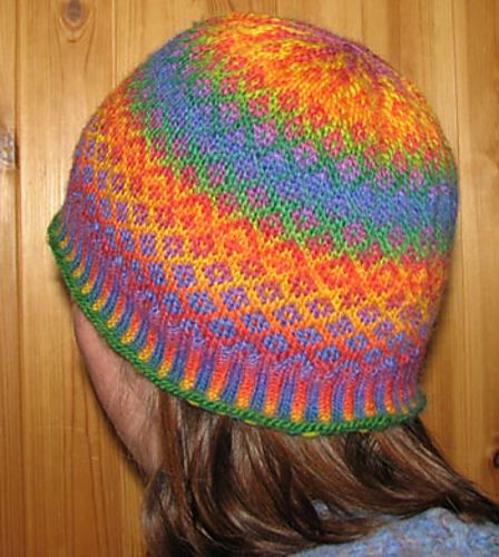 Ravelry: Mini Mochi Fair Isle Hat pattern by Sandi Rosner | Hats ...