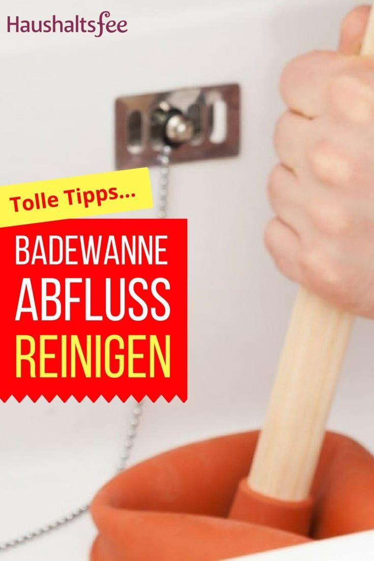 Wundervoll Abfluss Reinigen Hausmittel Das Beste Von Badewanne Ganz Einfach Und Sauber - Haltsfee.org