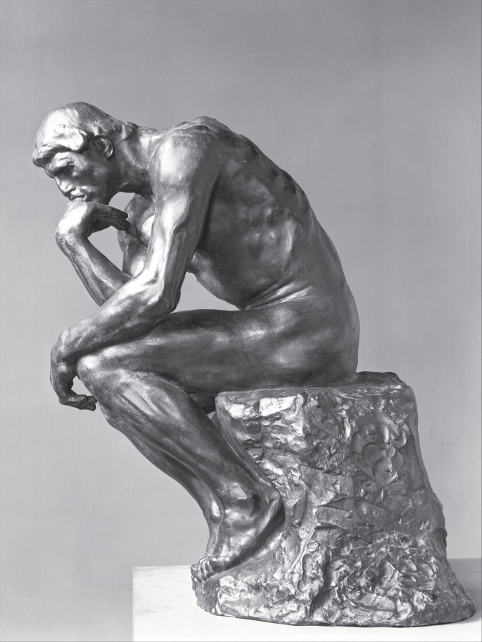 Banksy Sculpture Reimagines Rodin In Homage To The Thinker Contemporary Art Sotheby S Banksy Sculpture Installation Sculpture
