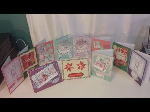 BEST Christmas Card Ideas using FREE Gifts from Cardmaking & Papercraft magazine ISSUE 162 - YouTube