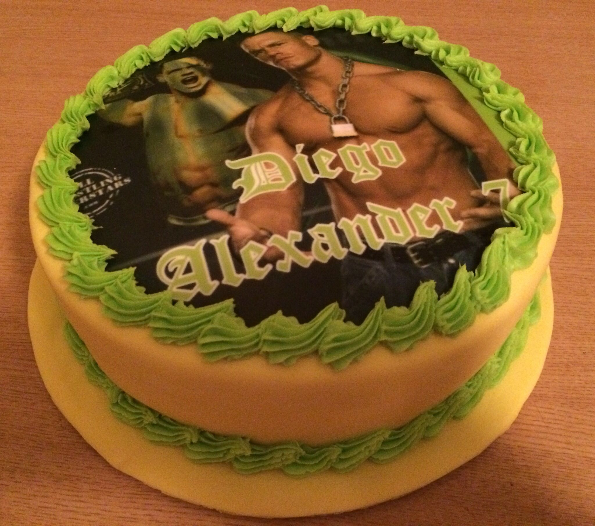 Birthday Cake John Cena Cakes Pinterest John cena Birthday