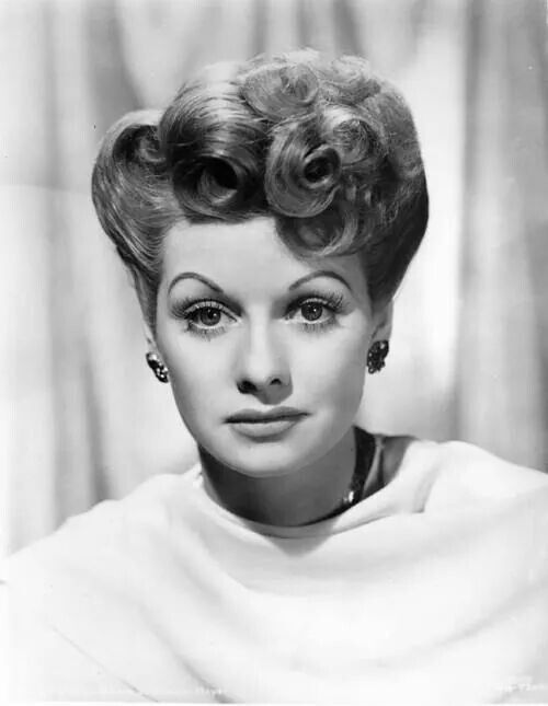 lucille ball vintage hairstyles