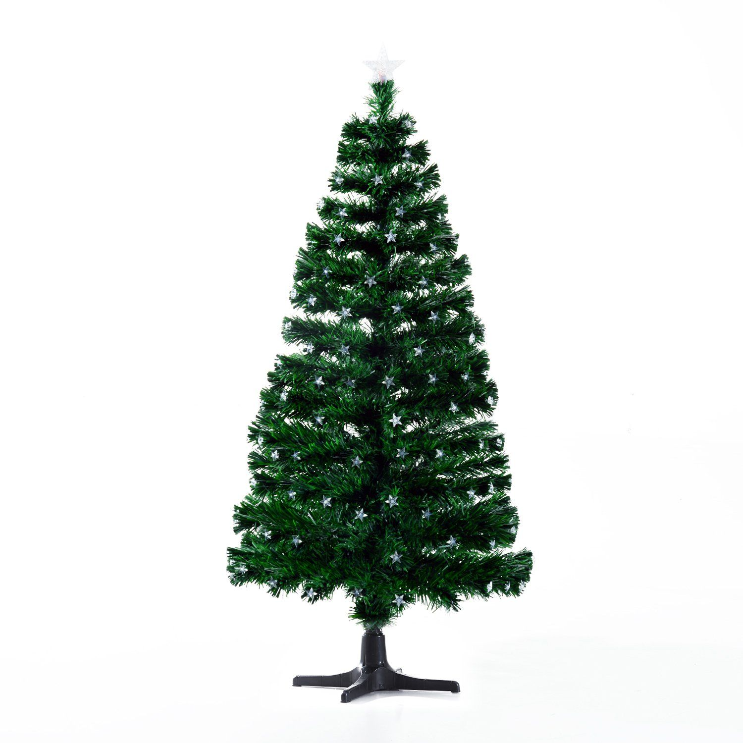 Homcom Rotating 7 5 Ft Tall Artificial Fiber Optic Led Prelit Holiday Christmas Tree Find Out More Led Christmas Tree Christmas Tree Holiday Christmas Tree Pre lit rotating christmas tree