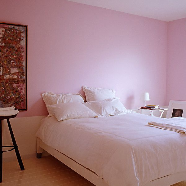 When It Comes To Paint Think Pink Light Pink Bedrooms Bedroom Colors Pink Painted Walls