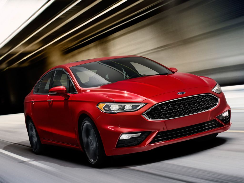 Ford Unveiled All New Fusion At The 2016 North American