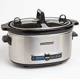 Charming KitchenAid 6 Quart Slow Cooker