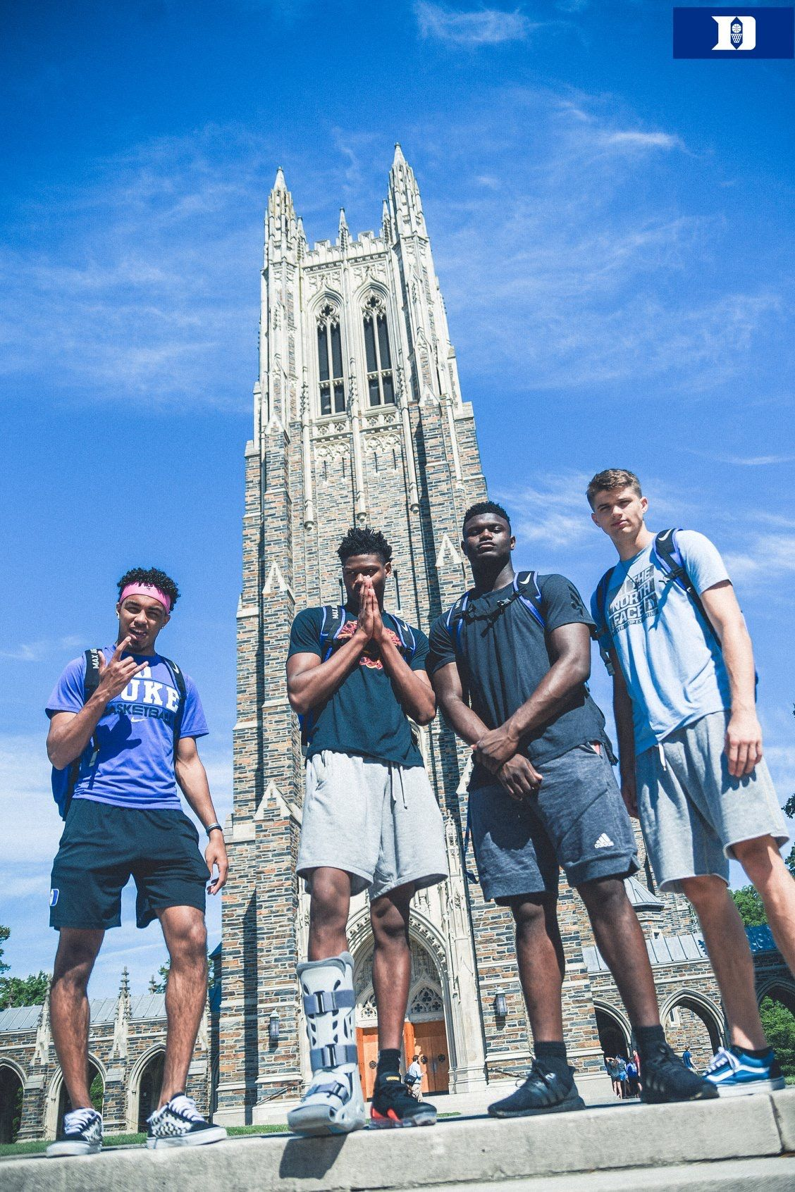 New big boys on campus. Duke blue devils basketball