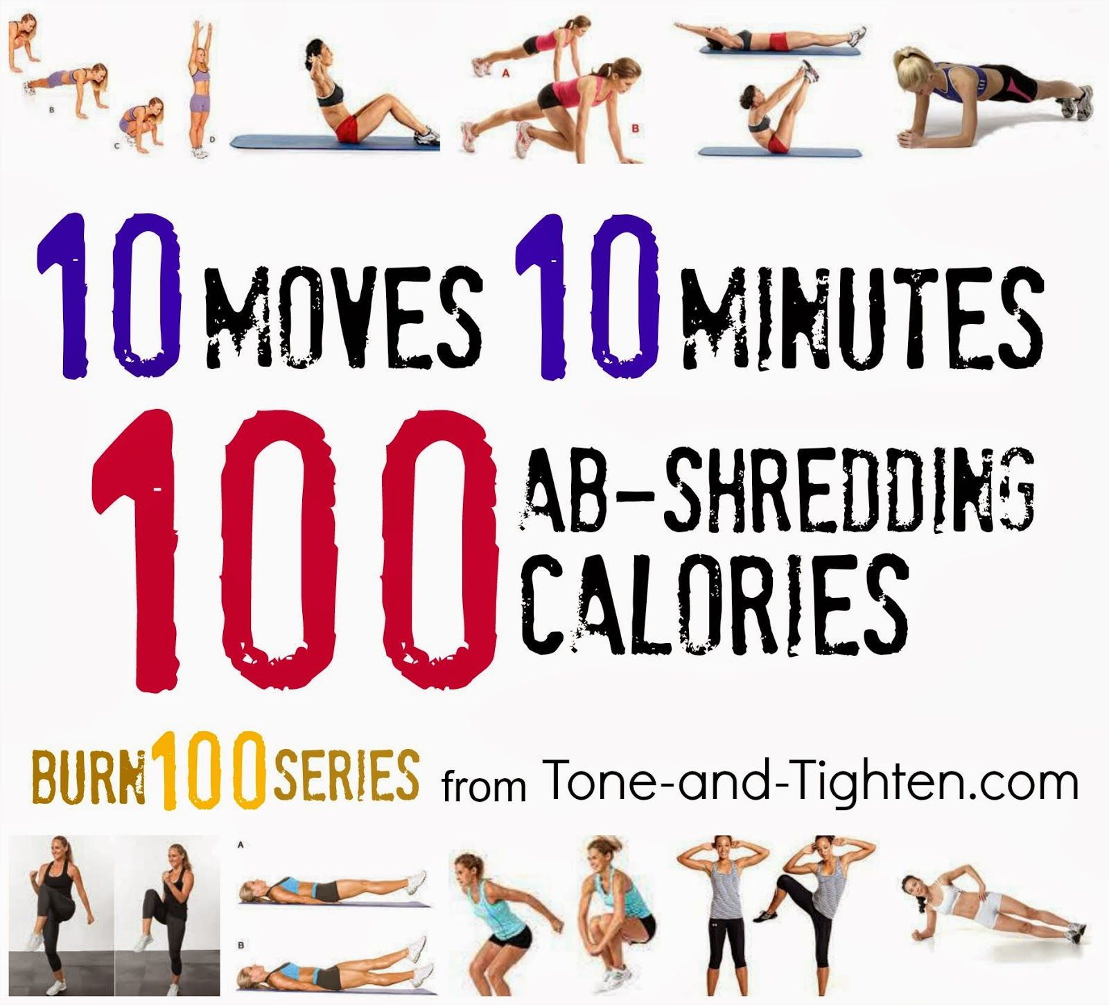 Burn calories in minutes with this killer ab workout from