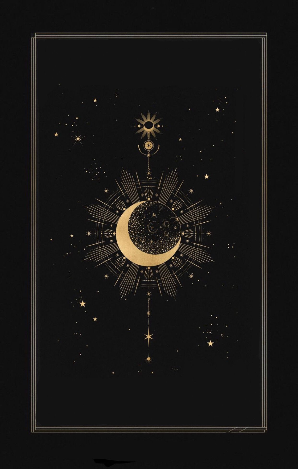 Pin By Honeymochi On Aesthetics Celestial Art Witchy Wallpaper Moon Art