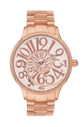 Betsey Johnson 'Lots 'n' Lots of Time' Swirl Dial Watch $125